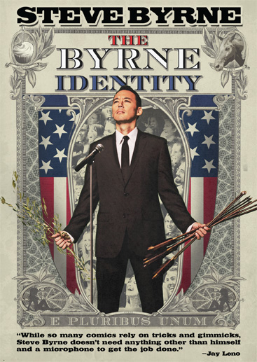 Steve Byrne: The Byrne Identity available for pre-order on