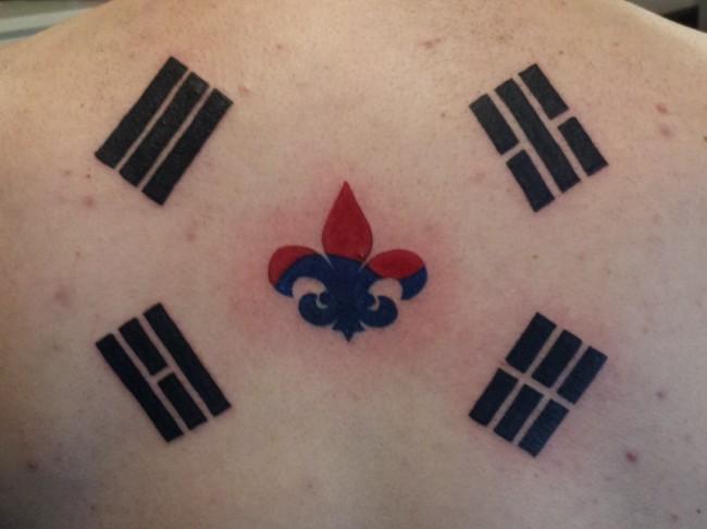 Halfkorean Mixed Korean Tattoo Project